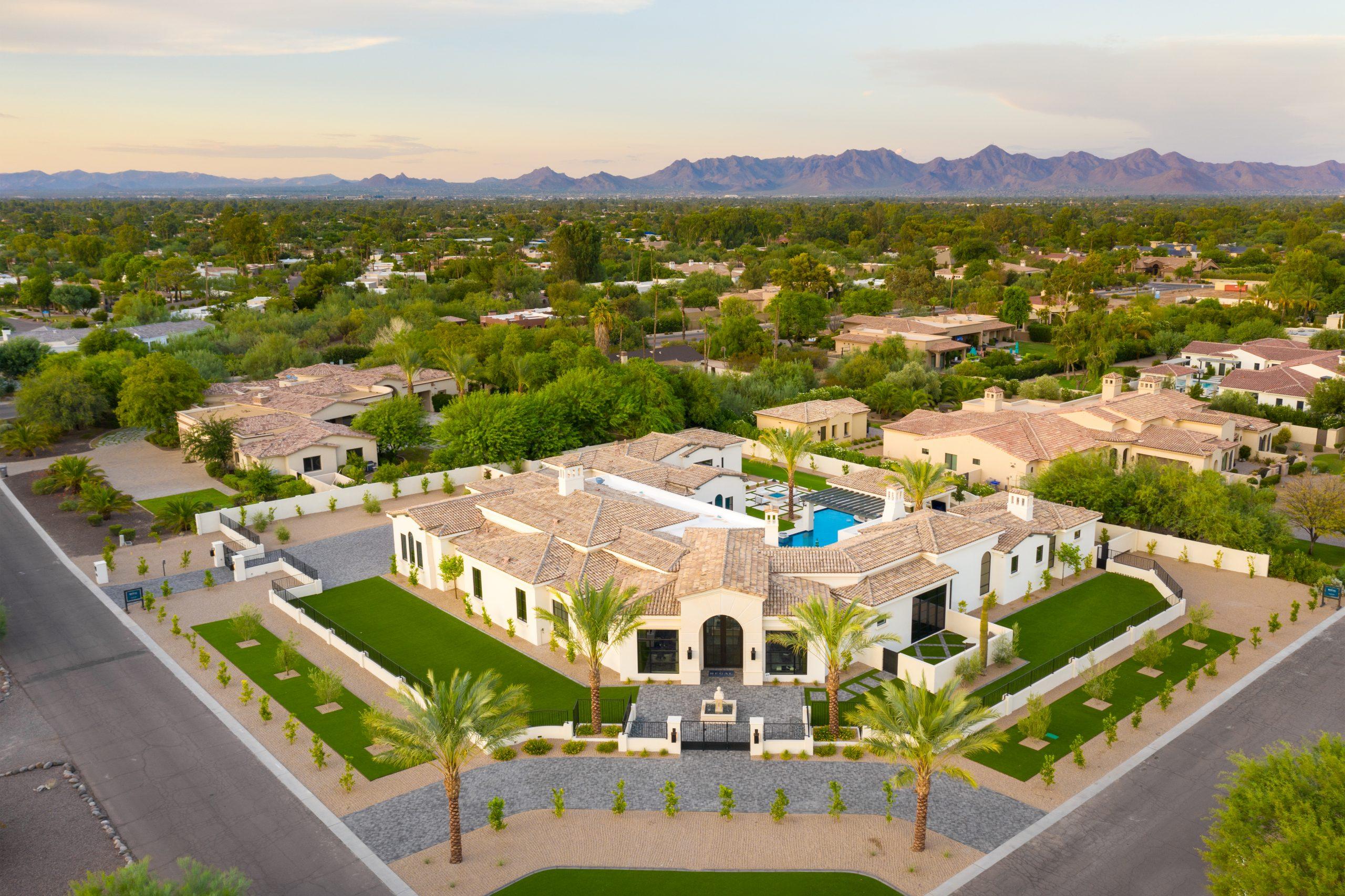 Sapphire Estate Aerial View