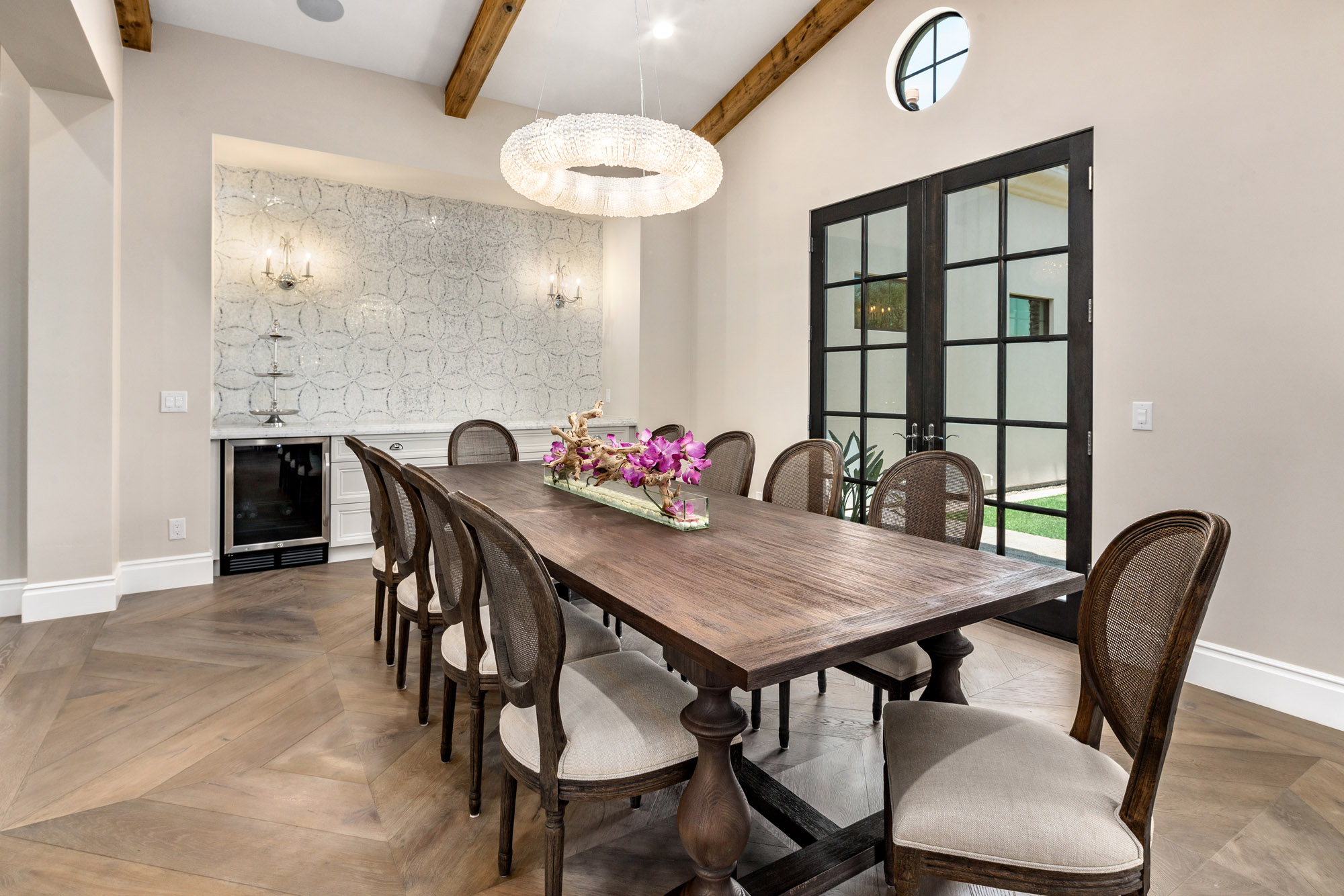 Turquoise Estate Dining Room