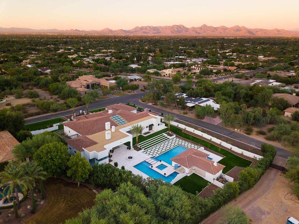 Butler Estate Aerial View