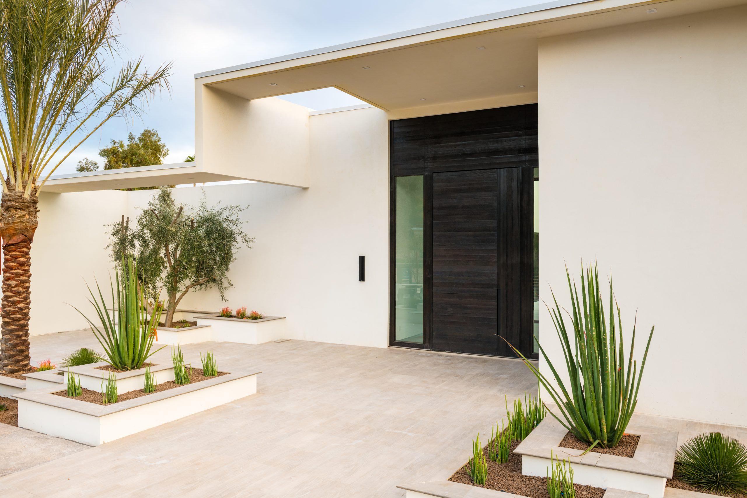 Redwing Estate Front Door
