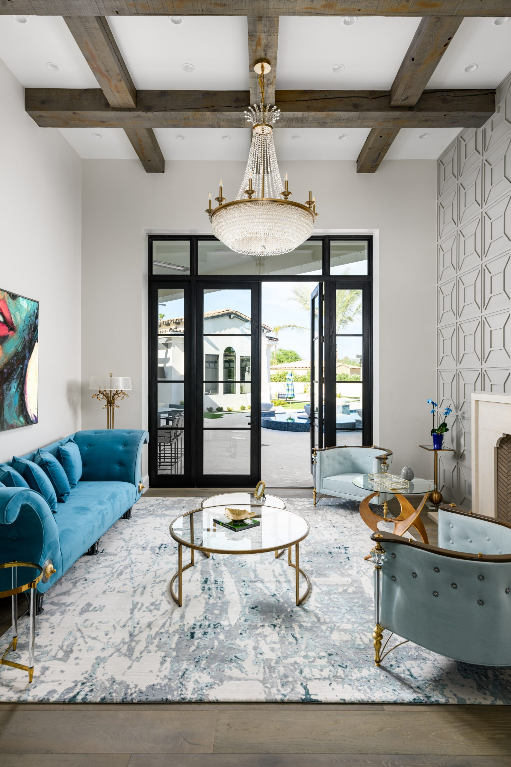 Sapphire Estate Formal Living Room