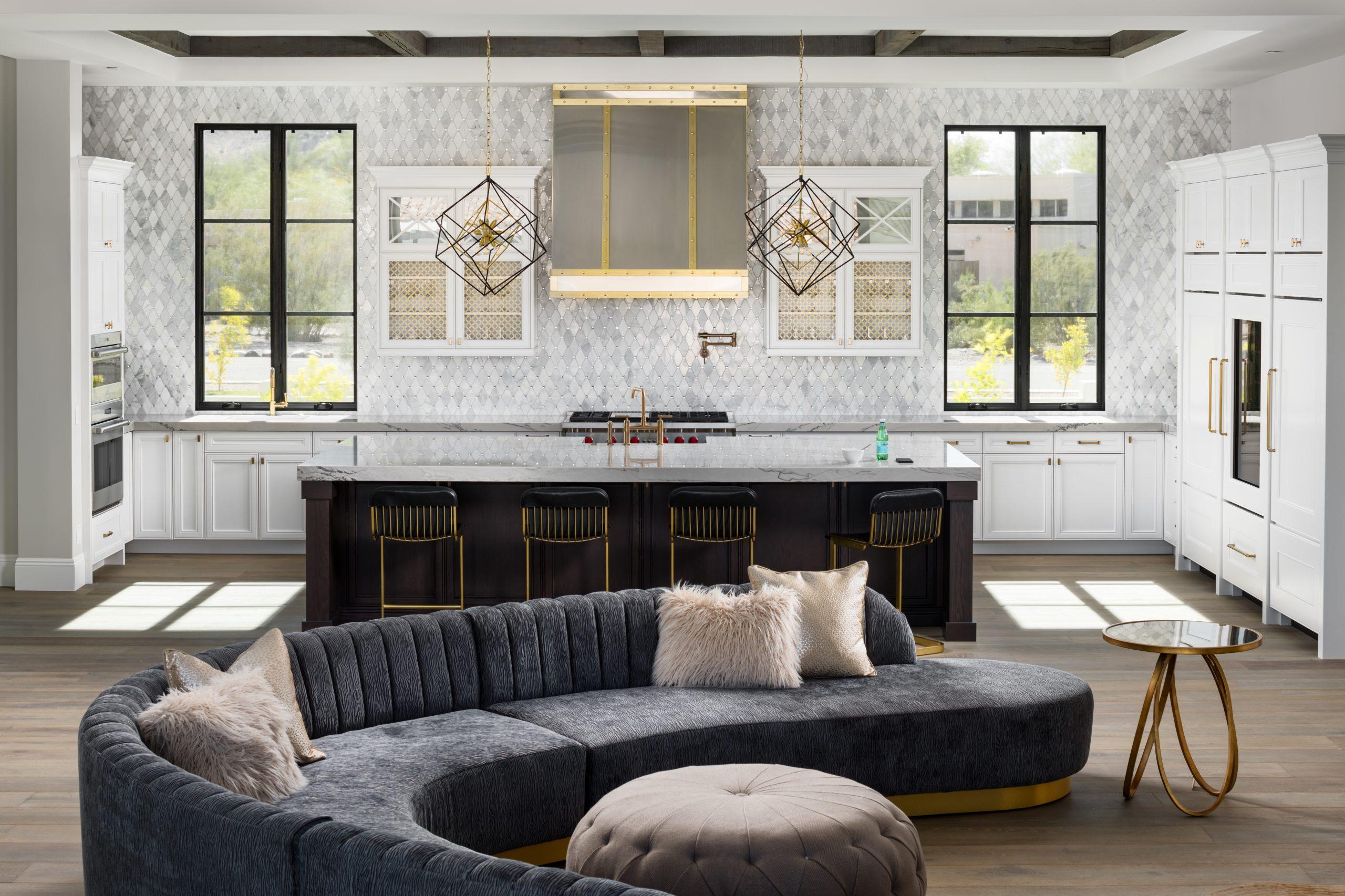 Sapphire Estate Kitchen & Living Room