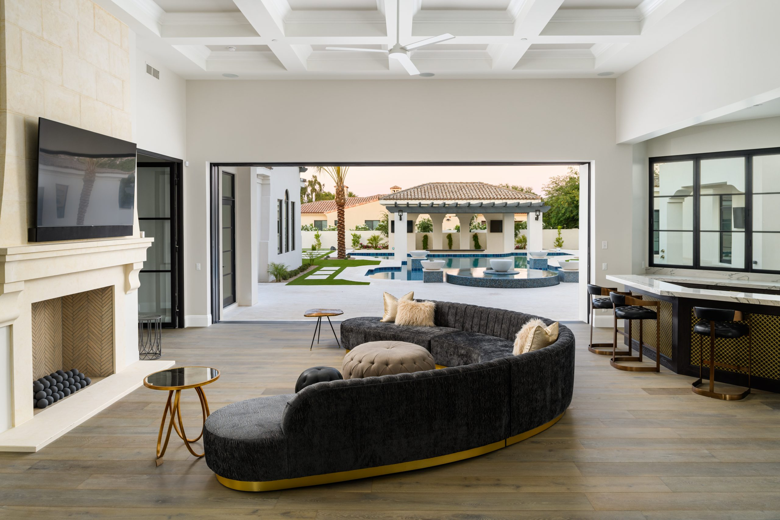 Sapphire Estate Living Area